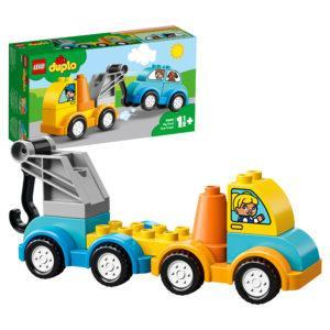 Конструктор LEGO Duplo (арт. 10883) «Мой первый эвакуатор»