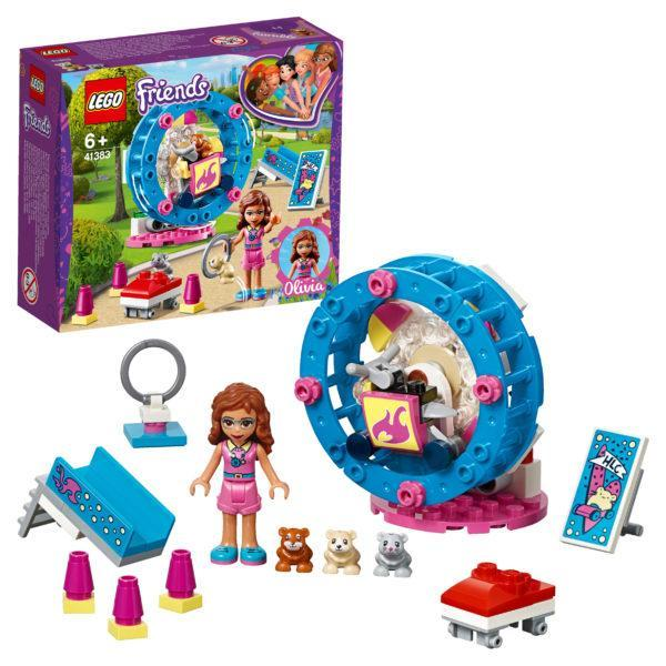 Конструктор LEGO Friends (арт. 41383) «Игровая площадка для хомячка Оливии»