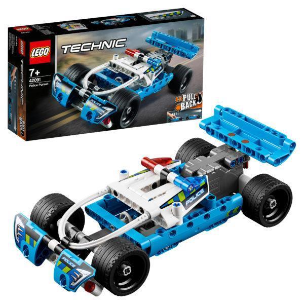 Конструктор LEGO Technic (арт. 42091) «Полицейская погоня»