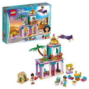 Конструктор LEGO Disney (арт. 41161) «Приключения Аладдина и Жасмин во дворце»