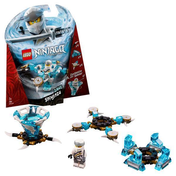 Конструктор LEGO Ninjago (арт. 70661) «Зейн: мастер Кружитцу»