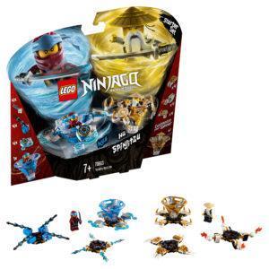 Конструктор LEGO Ninjago (арт. 70663) «Ния и Ву: мастера Кружитцу»
