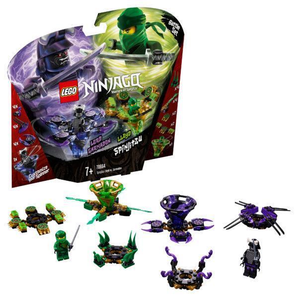 Конструктор LEGO Ninjago (арт. 70664) «Ллойд мастер Кружитцу против Гармадона»