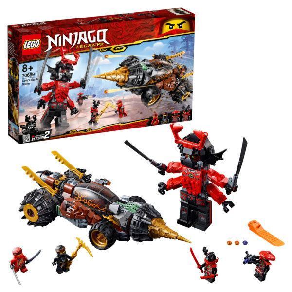 Конструктор LEGO Ninjago (арт. 70669) «Земляной бур Коула»