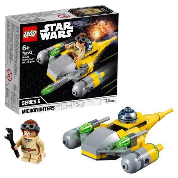 Конструктор LEGO Star Wars (арт. 75223) «Микрофайтеры: Истребитель с планеты Набу»