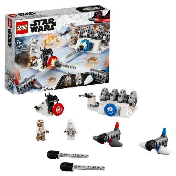 Конструктор LEGO Star Wars (арт. 75239) «Битва при Хоте»