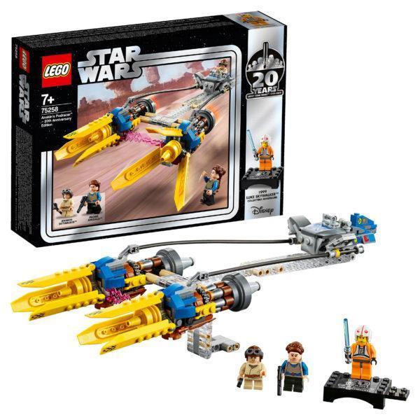 Конструктор LEGO Star Wars (арт. 75258) «Гоночный под Энакина»