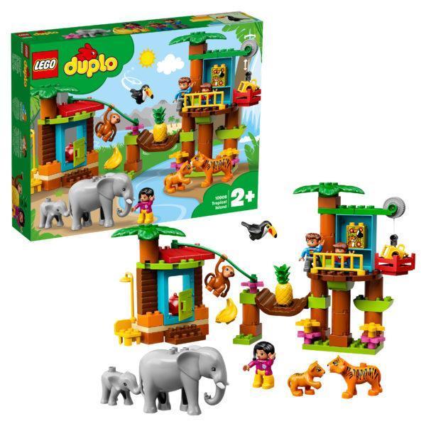 Конструктор LEGO Duplo (арт. 10906) «Тропический остров»