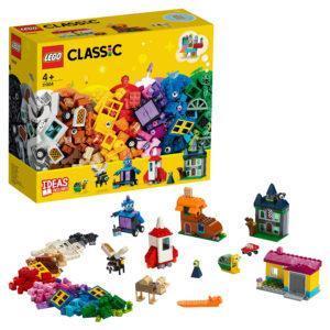 Конструктор LEGO Classic (арт. 11004) «Набор для творчества с окнами»