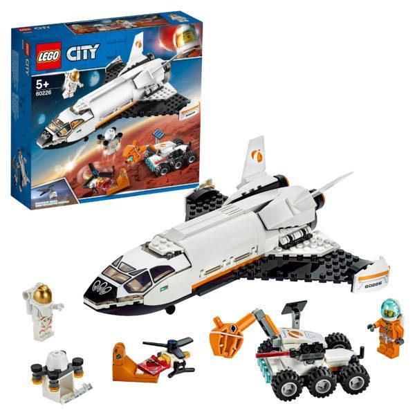 Конструктор LEGO City (арт. 60226) «Шаттл для исследований Марса»