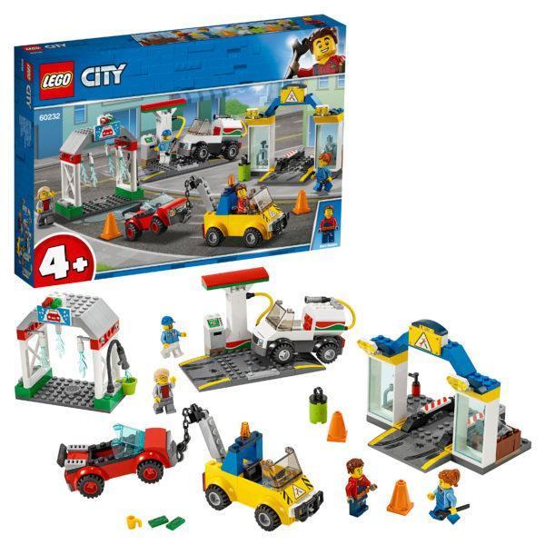 Конструктор LEGO City (арт. 60232) «Автостоянка»