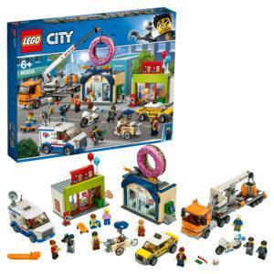 Конструктор LEGO City (арт. 60233) «Открытие магазина по продаже пончиков»