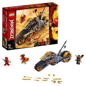 Конструктор LEGO Ninjago (арт. 70672) «Раллийный мотоцикл Коула»