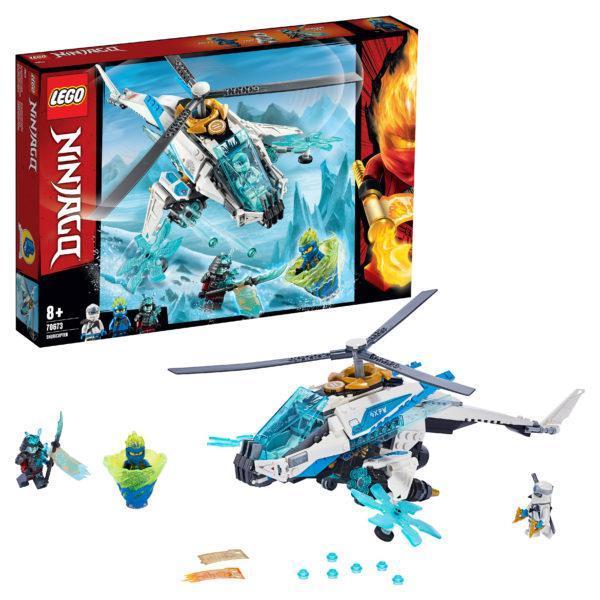 Конструктор LEGO Ninjago (арт. 70673) «Шурилёт»