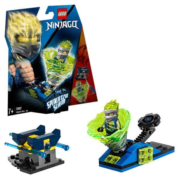 Конструктор LEGO Ninjago (арт. 70682) «Бой мастеров кружитцу — Джей»