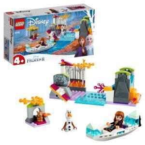 Конструктор LEGO Disney (арт. 41165) «Экспедиция Анны на каноэ»