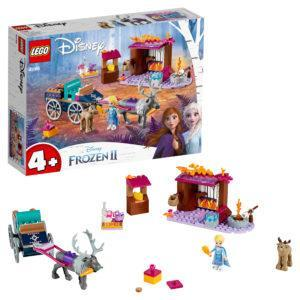 Конструктор LEGO Disney (арт. 41166) «Дорожные приключения Эльзы»