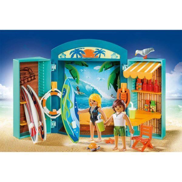 Игровой бокс «Магазин для серфингистов» (Playmobil)