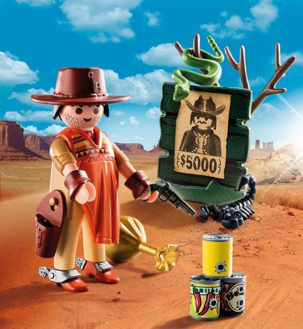Игровой экстра-набор: Ковбой с постером Разыскивается