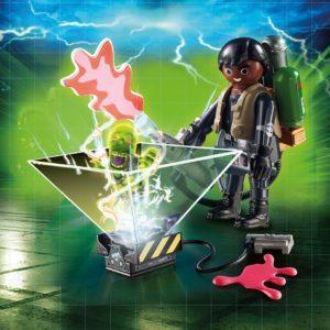 Игровой конструктор Playmobil «Охотник за привидениями: Уинстон Зеддемор» (арт. 9349)