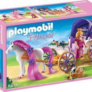 Игровой конструктор Playmobil «Замок Принцессы: Королевская чета с каретой» (арт. 6856)