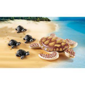 Игровой набор – Аквариум: Морская черепаха с детьми