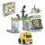 Игровой набор – Автозаправочная станция с инерционной машинкой, 50 деталей
