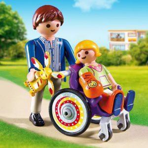 Игровой набор «Детская клиника: Ребёнок в коляске»