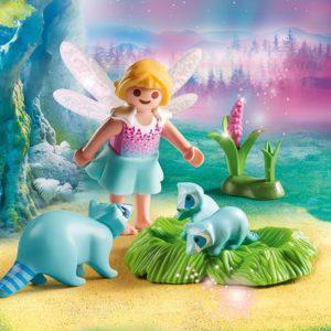 Игровой набор - Феи: Девочка-фея с енотами