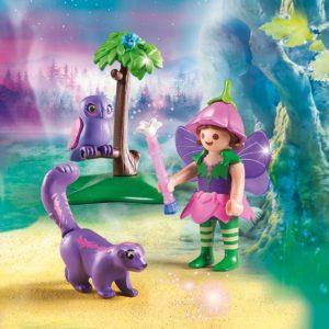 Игровой набор - Феи: Девочка-фея с животными друзьями