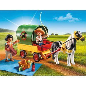 Игровой набор - Ферма Пони: Пикник с коневозкой