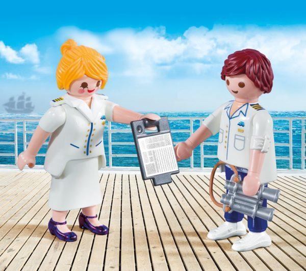 Игровой набор фигурок - Капитан круизного корабля