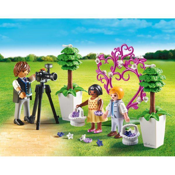 Игровой набор – Фотограф и дети с цветами
