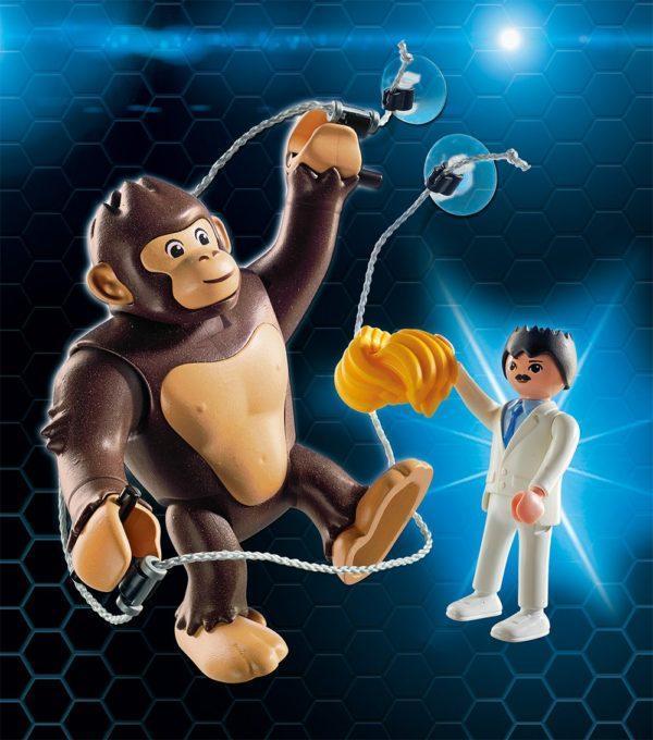 Игровой набор - Гигантский обезьяний гонг