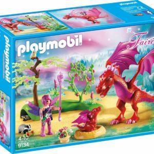 Игровой набор из серии Феи: Дружелюбный дракон с ребенком