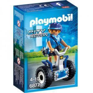 Игровой набор из серии Полиция: Полицейский на балансирующей гоночной машине