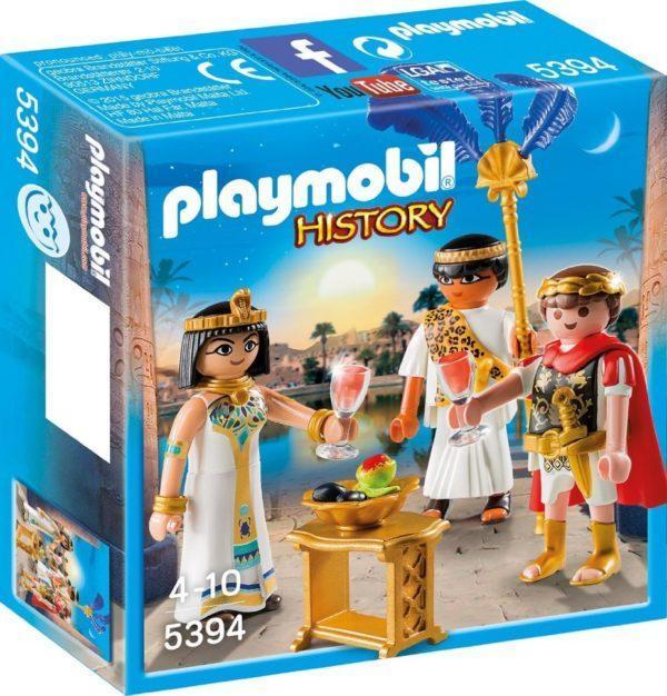 Игровой набор из серии «Римляне и Египтяне: Цезарь и Клеопатра» с аксессуарами (арт. 5394)