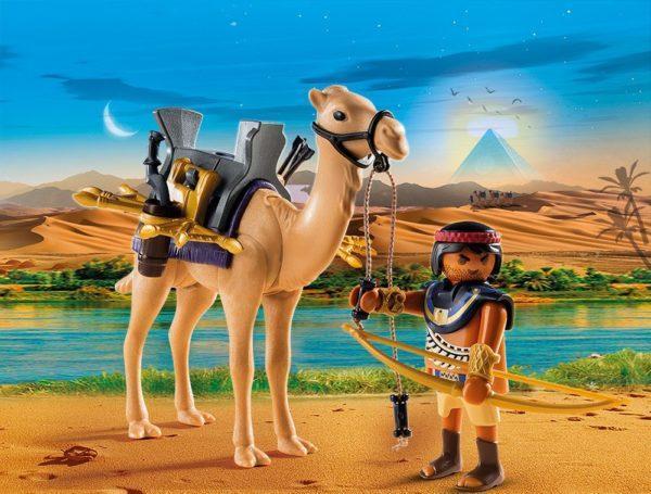 Игровой набор из серии Римляне и Египтяне: Египетский воин с верблюдом
