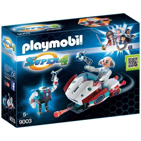 Игровой набор из серии Супер4: Скайджет с Доктором Х и Робот