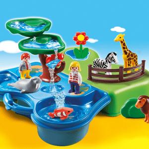 Игровой набор из серии «Возьми с собой» - Зоопарк и Аквариум