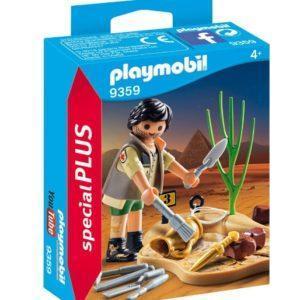 Игровой набор-конструктор Playmobil «Археолог» (арт. 9359)