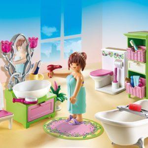 Игровой набор «Кукольный дом: Романтическая ванная комната»