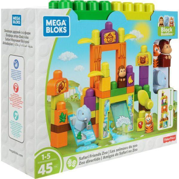 Игровой набор Mega Bloks Зоопарк Сафари, 45 дет.