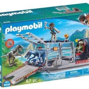 Игровой набор Playmobil «Динозавры: Вражеское воздушное судно с ящером» (арт. 9433)