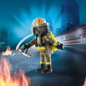 Игровой набор Playmobil «Друзья: Пожарный» (9 деталей, арт. 9336)