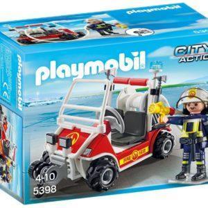Игровой набор Playmobil «Городской Аэропорт: Пожарный квадроцикл» (арт. 5398)