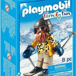 Игровой набор Playmobil «Лыжник с палками» (арт. 9284)