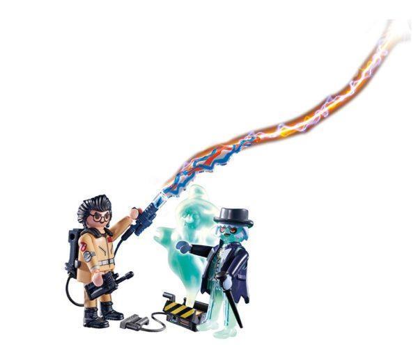 Игровой набор Playmobil «Охотник за привидениями: Игон Спенглер и привидение» (арт. 9224)