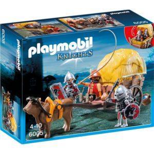 Игровой набор Playmobil «Рыцари: Рыцари Сокола с камуфляжной повозкой» (арт. 6005)