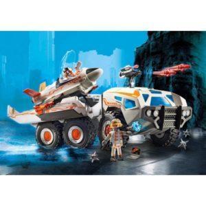 Игровой набор Playmobil «Суперагенты: Боевой грузовик команды шпионов» (арт. 9255)